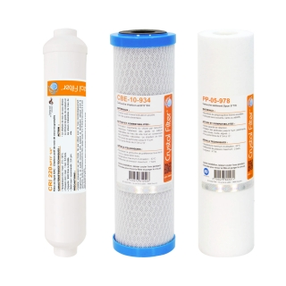 Pack cartouches Crystal Filter® pour osmoseur Pallas® 4T