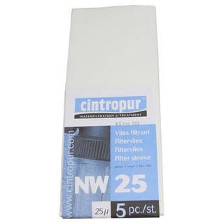 Manchettes filtrantes NW25 ,TIO & SL240 - 25µ pour Cintropur