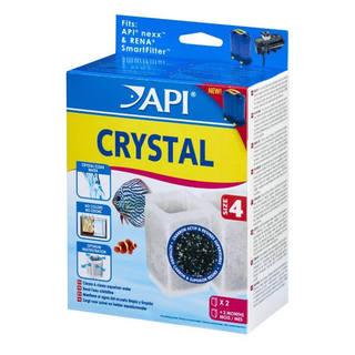 Filtre aquarium API Rena Nexx™ Crystal Size 4 (x2 filtres)
