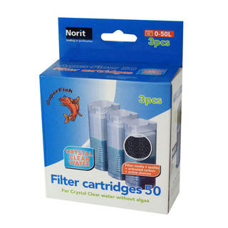Cartouche filtration filtre Aquadistri Superfish Aqua-Flow  50 Easy Click - Crystal Clear Water