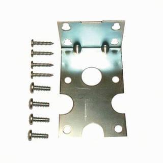Equerre simple métal de fixation pour carter standard et 3G avec vis
