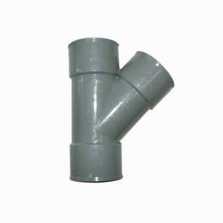 Té Y 45° égal 40 mm PVC évacuation