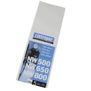 Manchettes filtrantes NW500 / NW650 / NW800 & NW50 / NW62 / NW75 - 100µ pour Cintropur