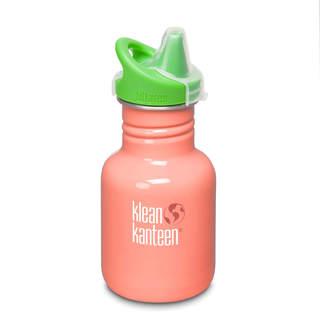 Gourde enfant 355mL sans BPA Orange ''Living Coral'' - Kid Kanteen