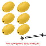 Savon jaune rotatif Provendi - Recharge à Vis (lot de 6)