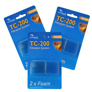 Filtre aquarium TC-200 mousse - Filter Foam - Aquatlantis (lot de 3)