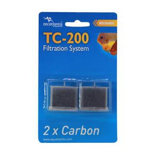 Filtre aquarium TC-200 Carbon - Charbon actif granulés - Aquatlantis