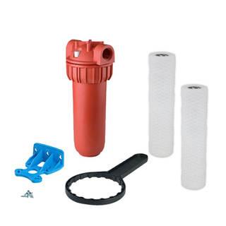 Eau chaude - Kit Filtration eau chaude  - Carter complet et cartouche filtre inox