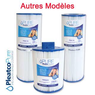 Autres modèles de Filtres Spa / Piscine / Bain à remous - Cartouches Pleatco