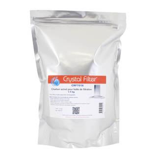Recharge de charbon activé pour hotte de filtration - 1.5 kg - Crystal Filter® CRF7018