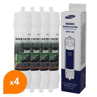 Filtre WSF-100 Magic Water Filter - Filtre frigo d'origine Samsung WSF-100 (lot de 4)