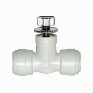 Vanne débit réglable - Push in 3/8''
