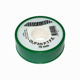 Ruban d'étanchéité / Téflon PTFE - Largeur 19 mm - Ep. 0.2 mm