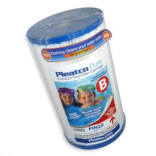 Filtre PIN20 Pleatco Standard - Compatible Intex Recreation 59901W - Cartouche filtre piscine