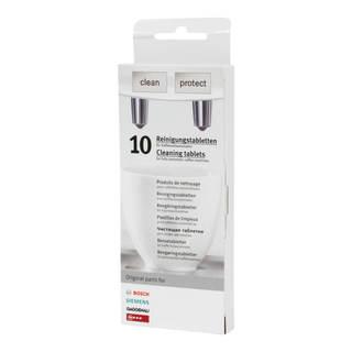 Tablettes nettoyantes pour cafetières et bouilloires Bosch - Siemens - Gaggenau - Neff x10