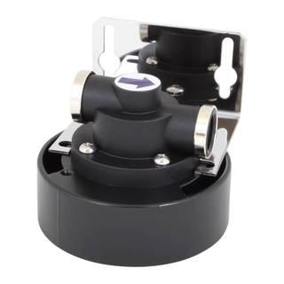 Tête de filtre métal Crystal Filter® QCF-1001 - Quick-Change sous évier