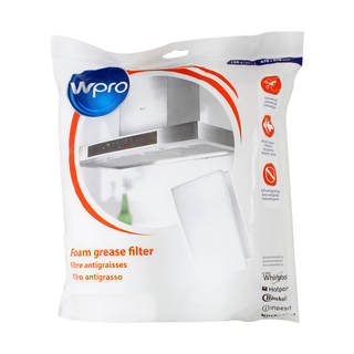 UGF016 Universel mousse - Filtre hotte aspirante antigraisse en mousse