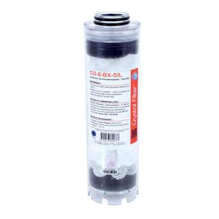 Conteneur de silicophosphate 10'' BX - Compatible HA 10 BX - Crystal Filter® CO-8-BX-SIL