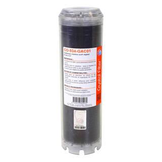 Conteneur de charbon actif végétal 9''3/4 à 10'' - Crystal Filter® CO-934-GAC01
