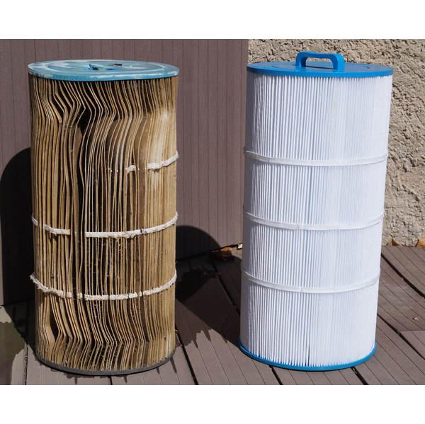 Filtre spcf 250 100 compatible waterair cw 100 crystal - Cartouche filtre piscine magiline ...