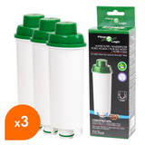 Cartouche cafetière compatible Delonghi DLS C002 / SER3017 - Filter Logic CFL-950 (lot de 3)