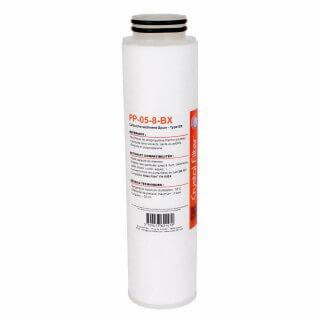 Cartouche PP-05-8-BX sédiment SPUN BX 10'' - 5 µm - compatible FA10BX - Crystal Filter®
