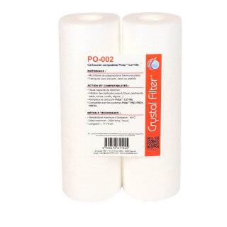 Cartouche PO-002 compatible CJ7100 pour POLAR™ (lot de 2) - Crystal Filter®