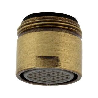 Mousseur aérateur eau filtrée robinet dauphin Bronze