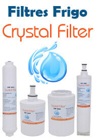 Filtres frigo Crystal Filter