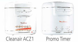 Clean Air Moulinex AAD502 3 Filtres pour friteuse Promo Timer