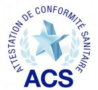 ACS (Attestation de Conformité Sanitaire)