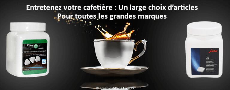 Entretien cafetières